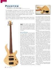 Bass Professor - Phantom Guitars