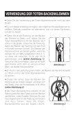 Bedienungsanleitungen - Totem Cams - Seite 3