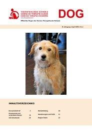 2013, Nr. 2 April (PDF, 1.3 MB) - Verein Therapiehunde Schweiz