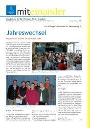Januar-Februar 2009 - Barmherzigen Brüder Straubing