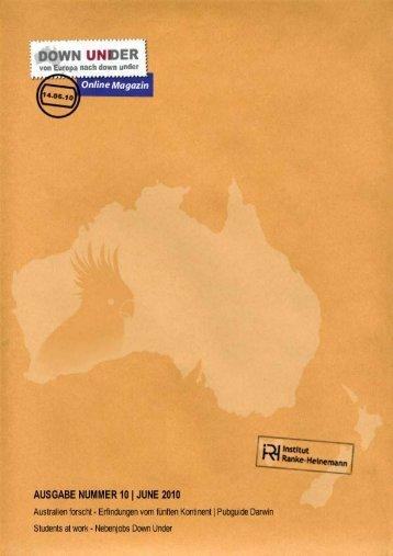 Ausgabe 10 (1.8 MB) - Institut Ranke Heinemann
