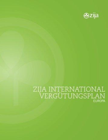 Zija Vergütungsplan auf DEUTSCH