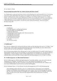 Kommunikationsmittel für den elektronischen Rechtsverkehr