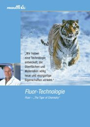 The Tiger of Chemistry - Air Products GmbH