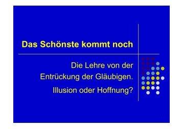 Die Entrueckung der Glaubenden.pdf - Helmut Blatt