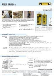 Produktinformation - Innotec Österreich