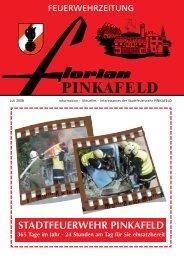 Ausgabe 2/2008 - Stadtfeuerwehr Pinkafeld
