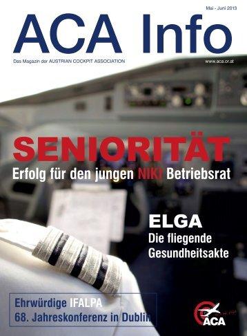 ACA Info Mai-Juni 2012 - Austrian Cockpit Association