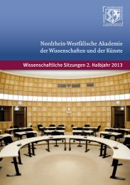 Veranstaltungsprogramm 2. Halbjahr 2013 - Nordrhein-Westfälische ...