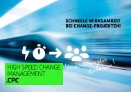 HigH Speed CHange ManageMent - CPC