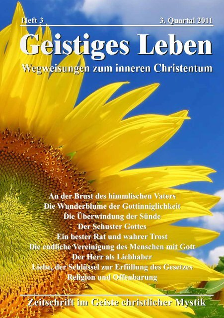 GL 3-2011 - der Lorber-Gesellschaft eV