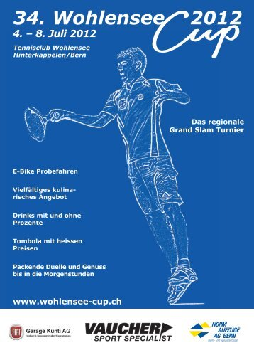 34. Wohlensee 2012 - Wohlensee-Cup