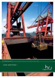 Prospekt zum Download (PDF - 2,5 MB) - ACM Schiffsbeteiligung