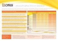 Microsoft Office 2010 im Überblick - Kufgem