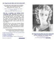 Der Engel brachte Maria die frohe Botschaft! Der ... - Rosenkranz