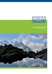Jahresbericht 2012 - FORUM ENGADIN