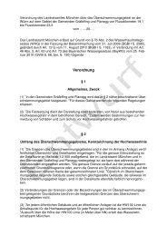 Verordnungsentwurf - Gemeinde Gräfelfing