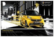 Flyer - smart fortwo edition cityflame