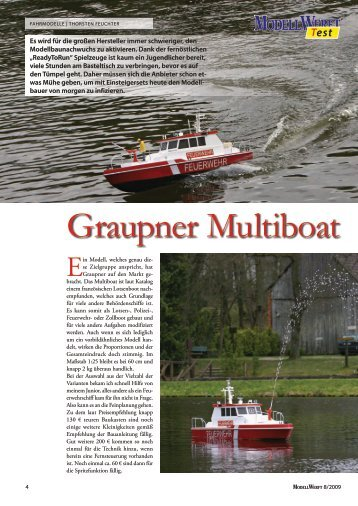 Graupner Multiboat