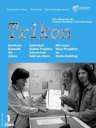 Ausgabe 1/2004 - TRIKON