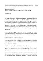 """""""Beziehung!"""", 24.11.2008 Beziehungen im Fokus 30 ... - NeuErkerode"""