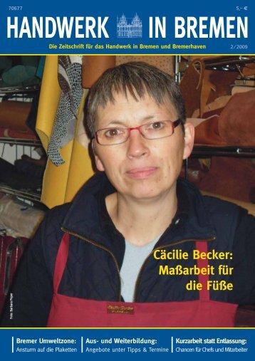 Cäcilie Becker: Maßarbeit für die Füße