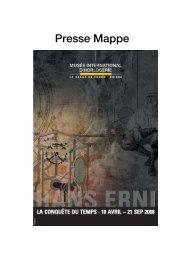 Presse Mappe - Ville de La Chaux-de-Fonds