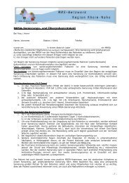 MRSA-Sanierungs- und Übergabeprotokoll - MRE-Netzwerk Rhein ...