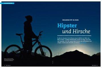 Hipster und Hirsche
