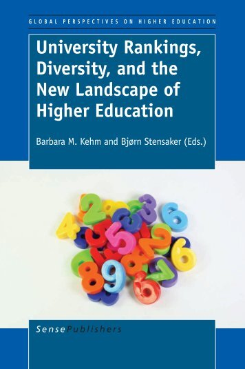 University Rankings, Diversity, and the New ... - Sense Publishers