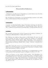Jun.-Prof. Dr. Misia Sophia Doms Wissenschaftliche Publikationen 1 ...