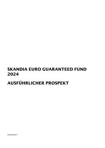 Skandia Euro Guaranteed 2024 Prospekt