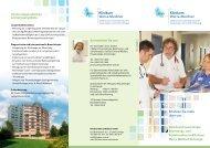 Flyer Pneumologie