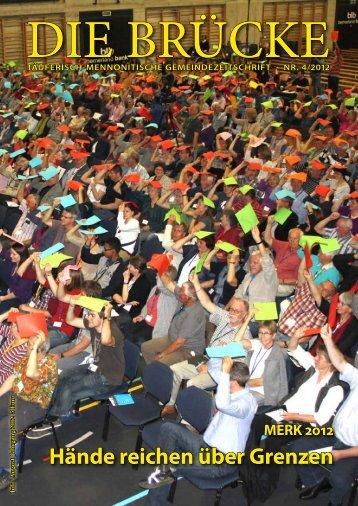 Hände reichen über Grenzen - Arbeitsgemeinschaft Mennonitischer ...
