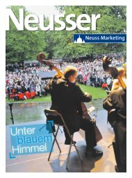Neusser unter blauem Himmel • 3 - Neuss Marketing
