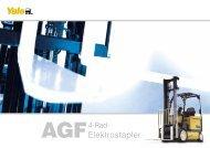 AGF Brochuere - Marksteiner Gabelstapler