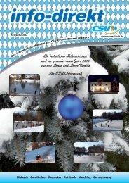 info-direkt 2012 Ausgabe 2 - CSU