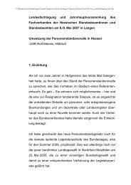 Dienstbesprechung - Fachverband der Hessischen ...