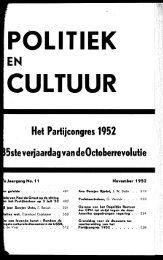 nr. 11 november - Publicaties Nederlandse Politieke Partijen