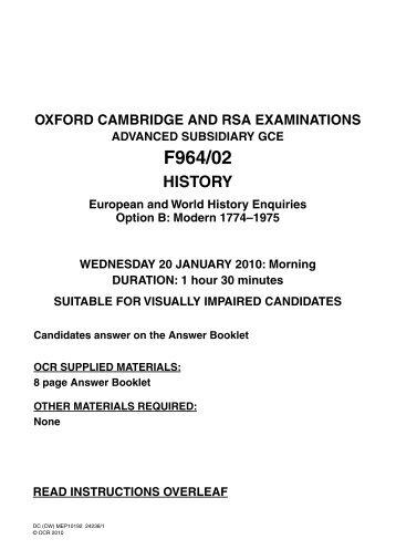 ocr as english coursework mark scheme