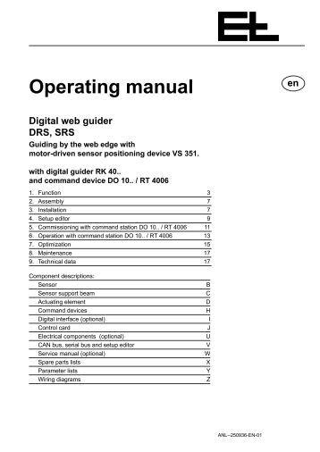 erhardt leimer web guide manual
