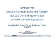 Einfluss von sozialen Normen, Ethik und Religion auf das ...