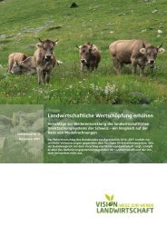 Download Faktenblatt Nr. 2, November 2011 - Vision Landwirtschaft