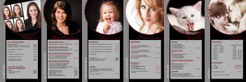 können Sie unsere aktuelle Preisliste für Portraits downloaden