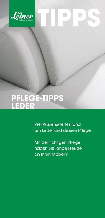 Download (pdf - 1.17 Mbyte) - Leiner