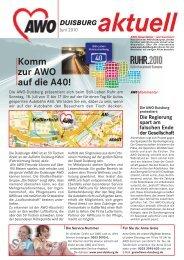 Hft 8s a4 170610.ps, page 1 @ Preflight - AWO Duisburg
