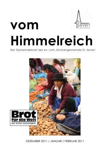 GB11-4 Gemeindebrief Dezember 2011 / Januar ... - Kirche Otterndorf