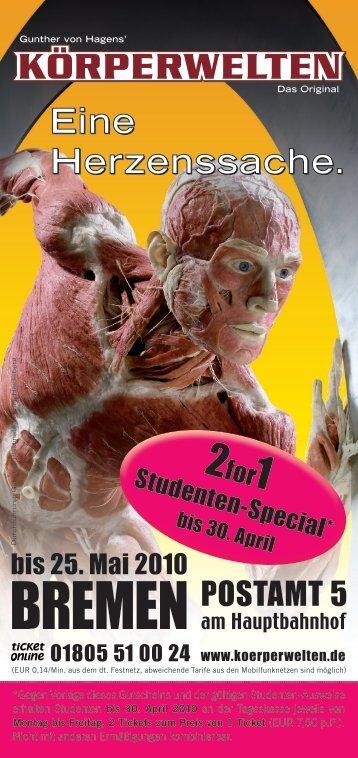 Rabatt-Coupon - Campus TV - Uni Bremen