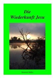 Die Wiederkunft Jesu - FCDI