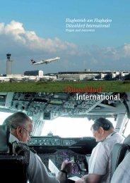 Flugbetrieb am Flughafen Düsseldorf International